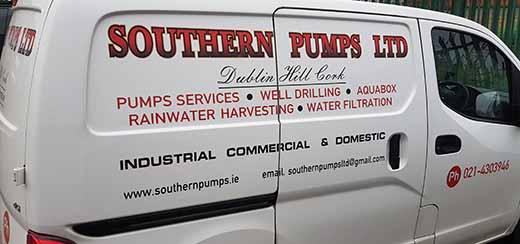 Southern Pumps service van